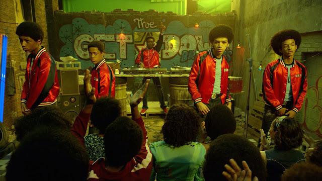 Jovens MCs e Dj série The Get Down Netflix