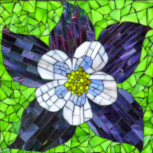 Kasia Mosaics Mosaic Flower Series