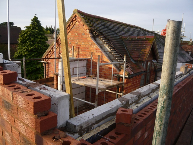 Sawdust In My Socks: Complicated Little Roof