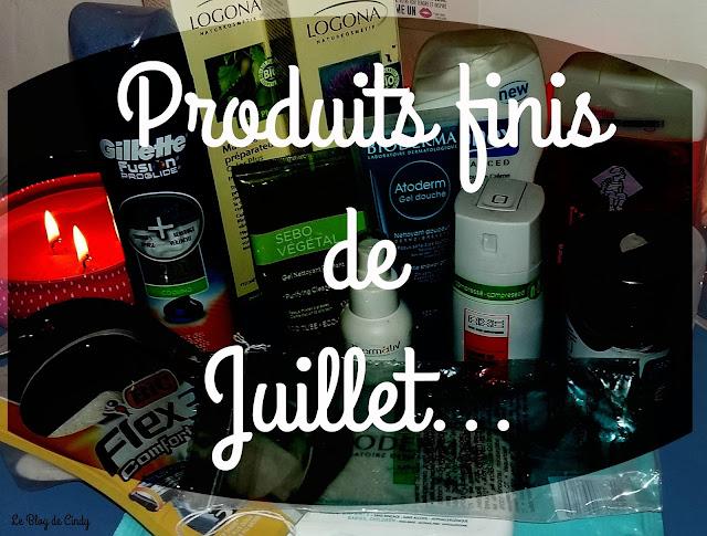 PRODUITS FINIS DE JUILLET