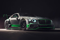 Bentley Continental GT3 2018 Front Side