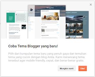 Template atau Tema Blogger Baru dengan 4 Desain Baru