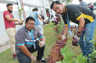Sunpower Malaysia Planting Tree Activity