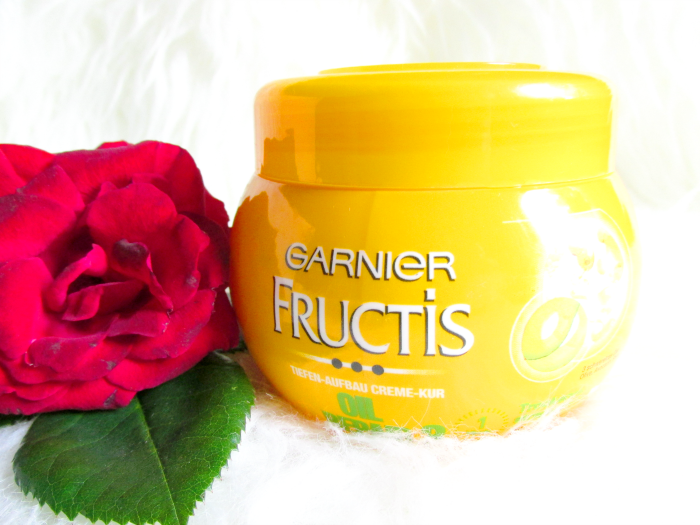 Review: Garnier Fructis Oil Repair 3 - Tiefen-Aufbau Creme-Kur - 1Minute