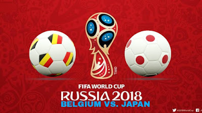 Live Streaming Belgium vs Japan Piala Dunia 3.7.2018