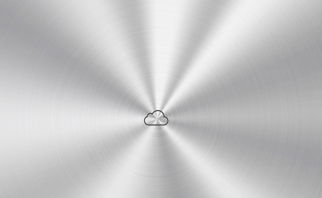 Free Ipad Retina Hd Wallpapers: Silver ICloud Logo IPad Wallpaper
