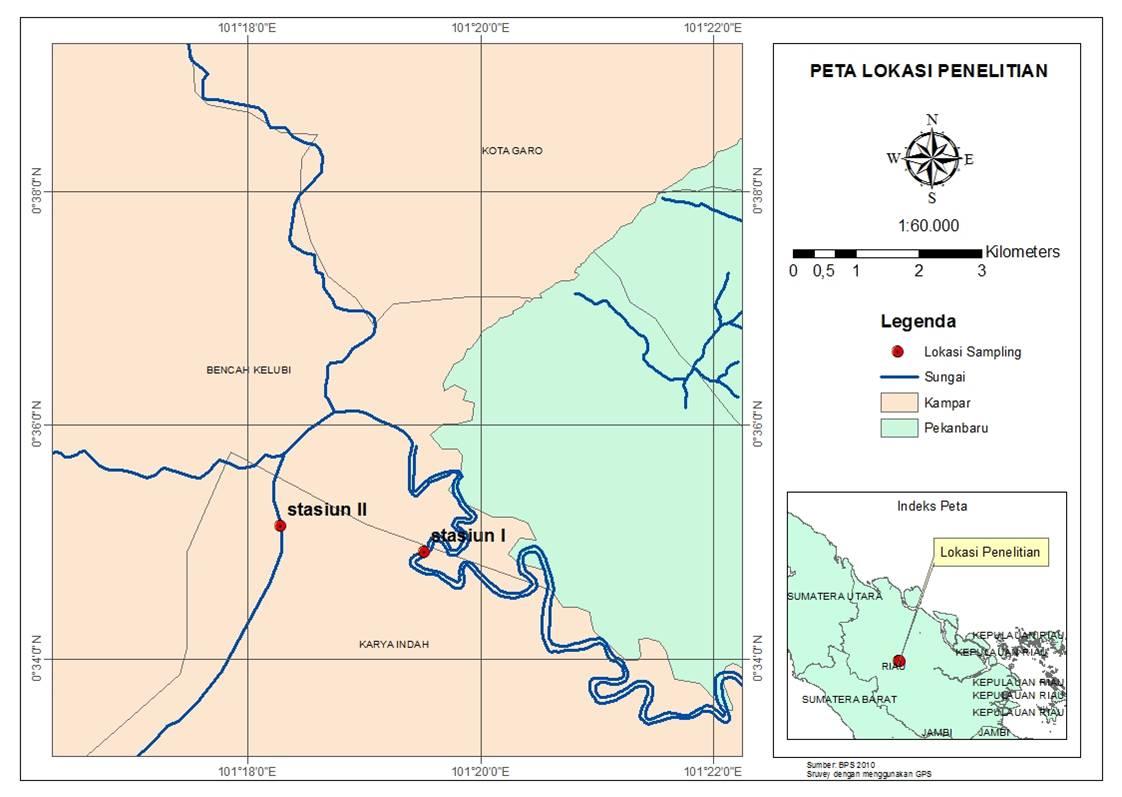 Qemala: peta sungai siak dan sungai