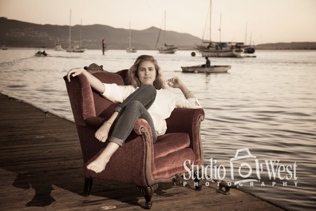 sailor senior pictures - beach portraits - senior portrait - atascadero - studio 101 west photography