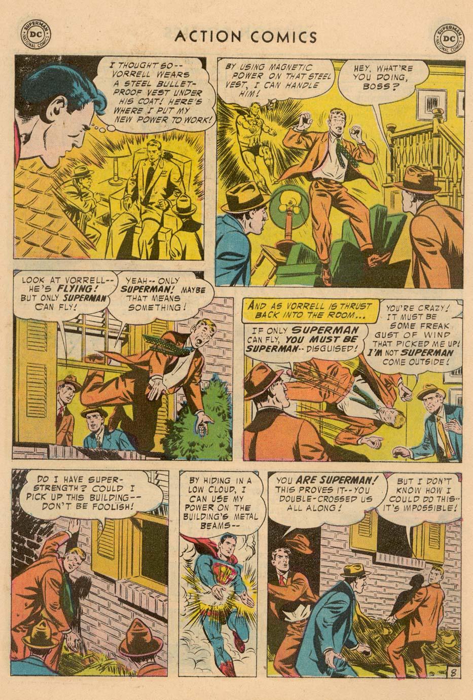 Action Comics (1938) 221 Page 9