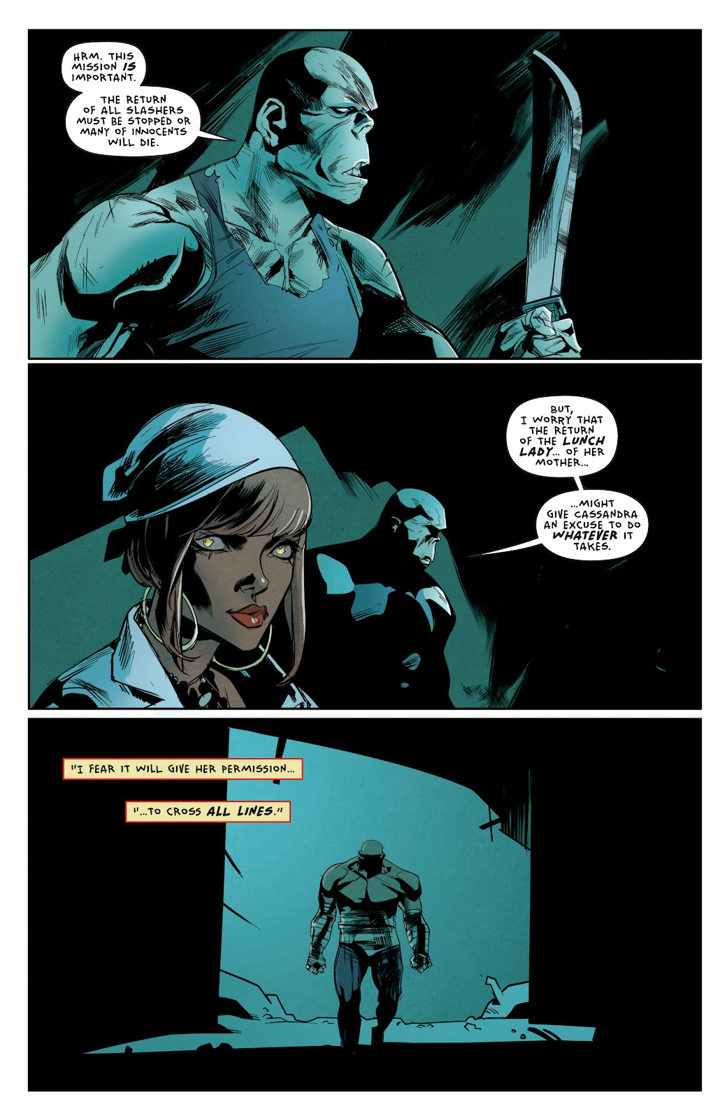 Read online Hack/Slash vs. Chaos comic -  Issue #3 - 11