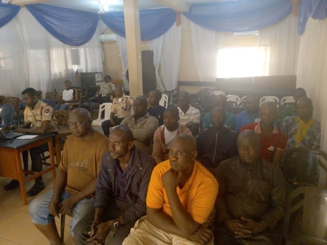 FRSC Trains Peace Mass Transit Drivers For Safe Driving