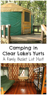 A look at Clear Lake, Iowa's yurts - a family summer bucket list must!