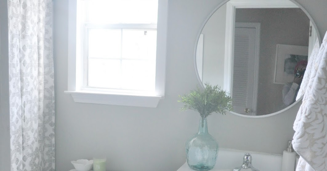 Guest bathroom makeover reveal live pretty on a penny for H g bathrooms brookvale