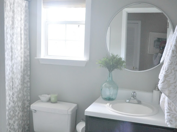Guest Bathroom Makeover Reveal!