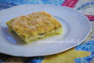 ricetta torta di pesce