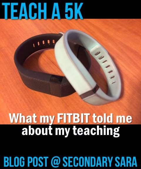 Have you ever wondered how much exercise or movement you get throughout the school day? What about how much stress you experience? A health and fitness monitor, like a Fitbit, can be a good tool to help you learn more about yourself as you teach! Click through to learn about my experience with Fitbits and teaching.