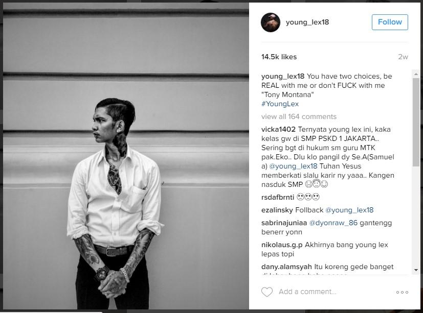 young lex instagram samuel alexander