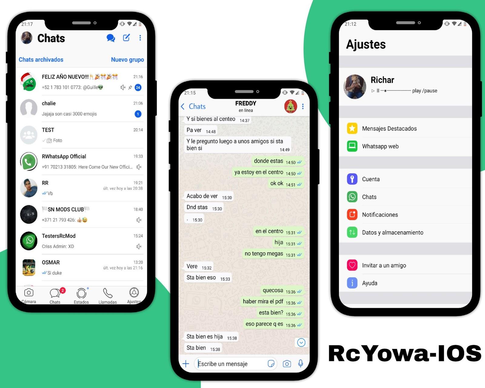 Whatsapp Mod Ios Para Android - Syam Kapuk