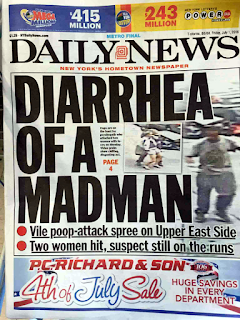 newspaper headline win