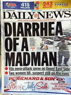 newspaper headline win