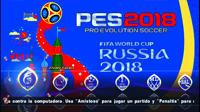 PES 2018 PPSSPP Chelito19 World Cup 2018 Special Edition