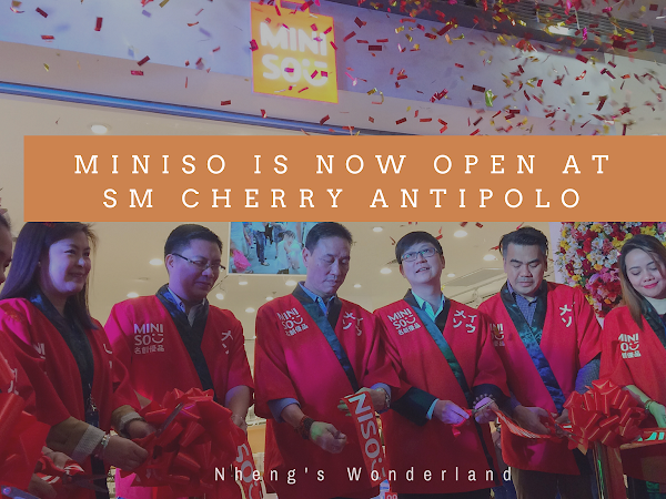 Miniso Is Now Open At SM Cherry Antipolo!