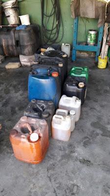 """""""Polícia Civil prende em flagrante suspeito de armazenar ilegalmente combustível em Cubatão"""""""