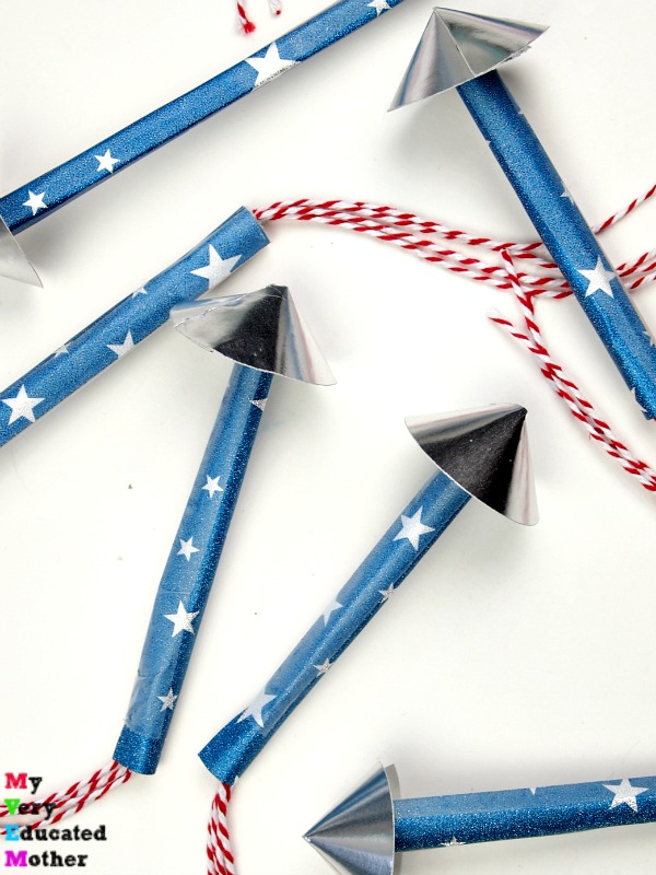 Firecracker Straw Rockets - let your kids spit without being disgusting!