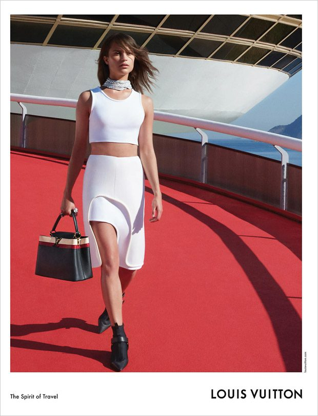 Louis Vuitton Cruise Campaign 2017 featuring Alicia Vikander