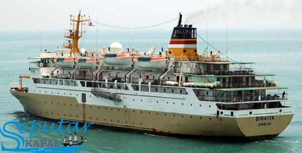 Kapal laut Pelni Km Binaiya