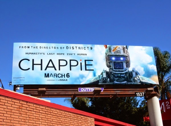 Chappie movie billboard