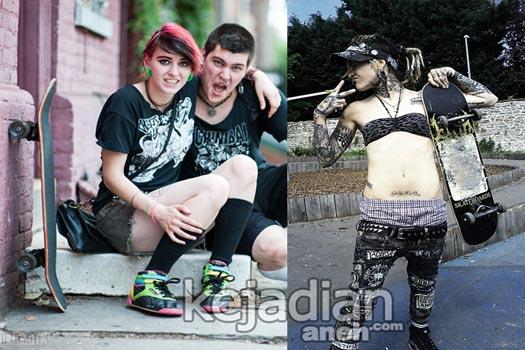 skatepunk 8 Komunitas Punk Terkenal di Dunia
