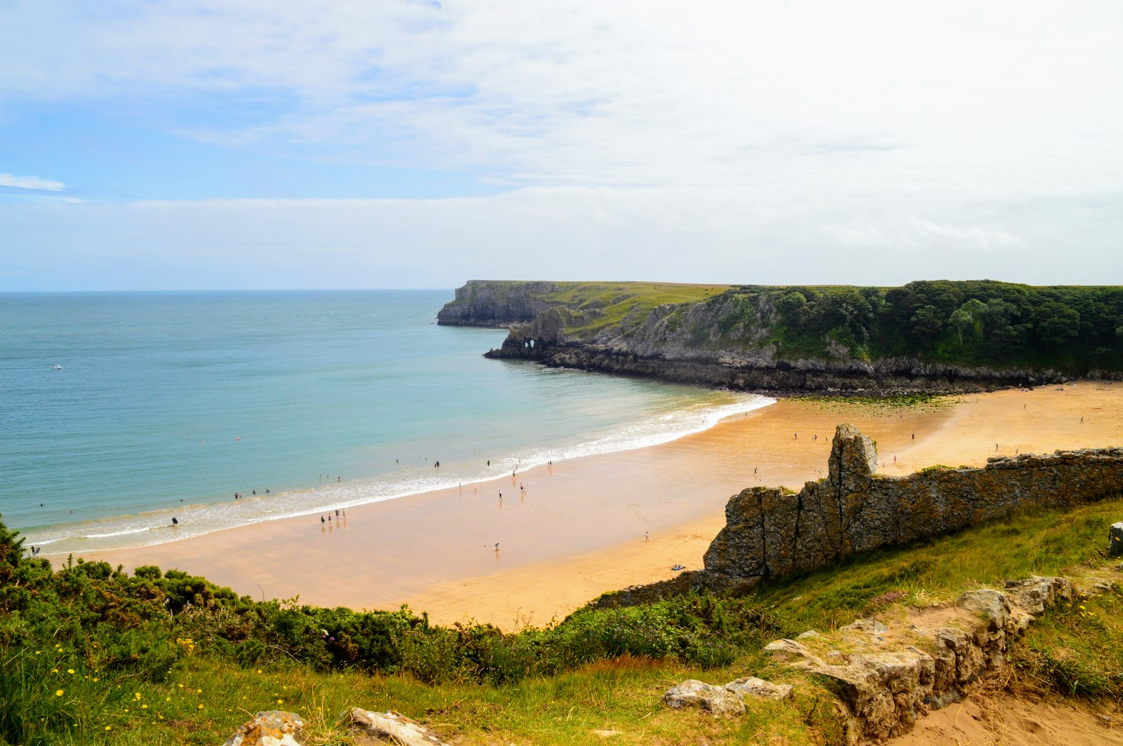 , Beautiful Barafundle Bay, Pembrokeshire