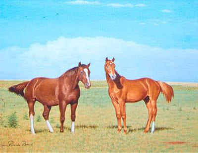 alazanes caballo