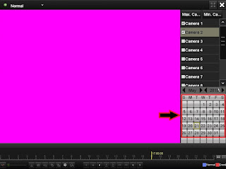 Cara melihat rekaman playback cctv DVR hikvision