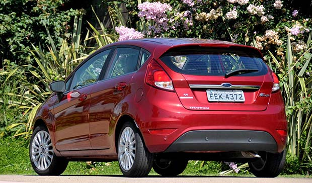 a car New fiesta 2014