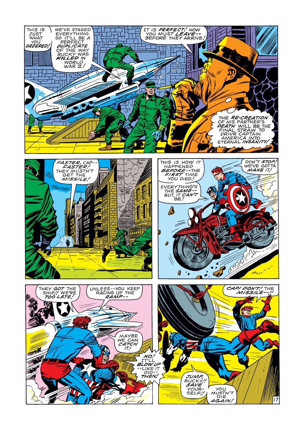 Captain America (1968) Issue #107 #21 - English 18