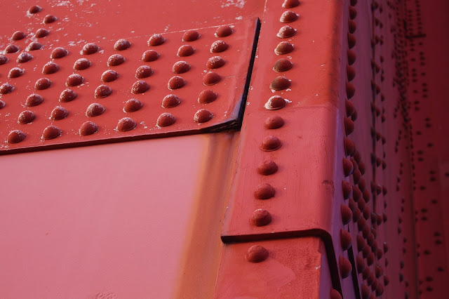 Golden Gate Bridge up close, San Francisco - California travel blog