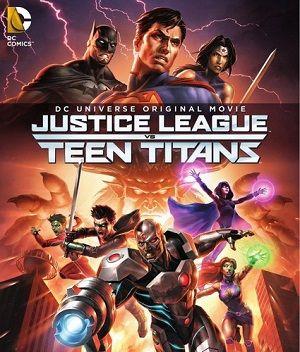 Download Justice League vs Teen Titans (2016) 720p WEB-DL 550MB - SHERiF