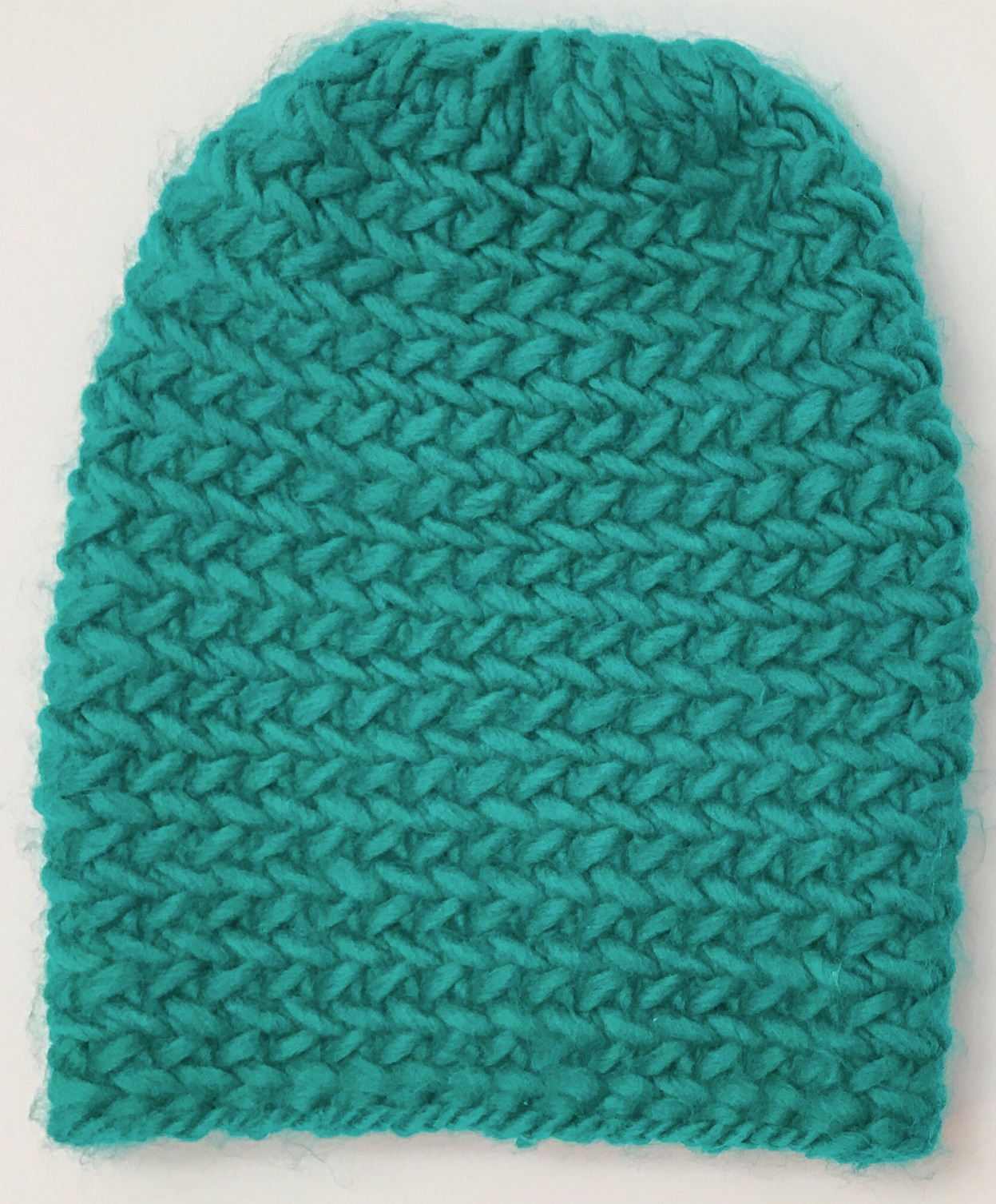 Free Knitting Pattern Hat 10mm Needles : iKNITS: Herringbone Hat - Free Pattern