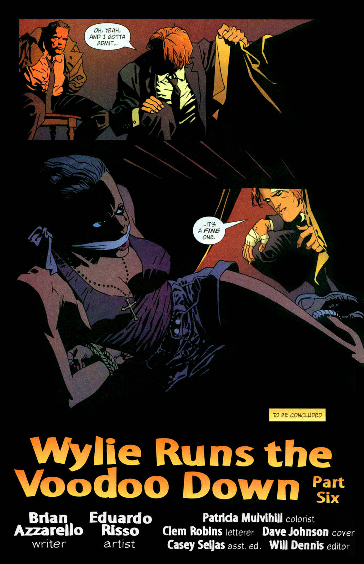 Read online 100 Bullets comic -  Issue #56 - 23