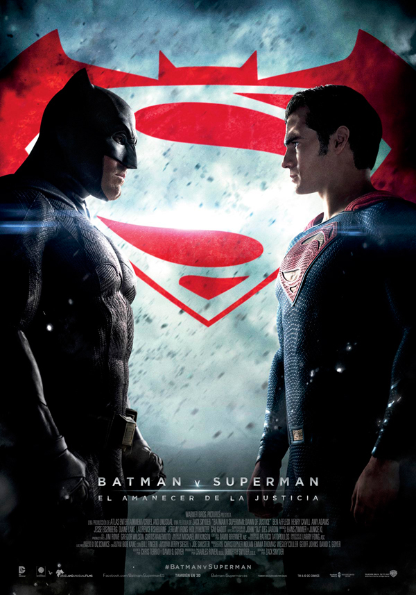 Cartel Batman v. Superman: El amanecer de la Justicia
