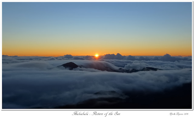 Haleakala: Return of the Sun