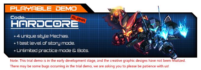Code: HARDCORE - demo