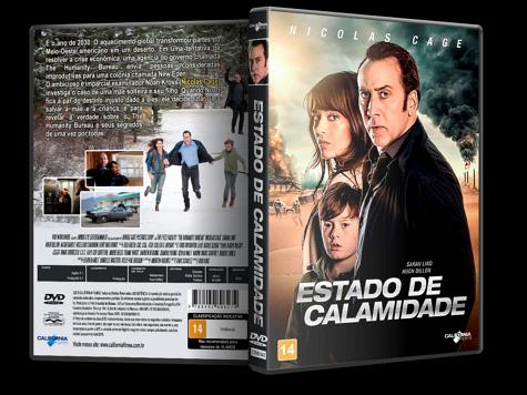 Capa DVD Estado de Calamidade [Custom]