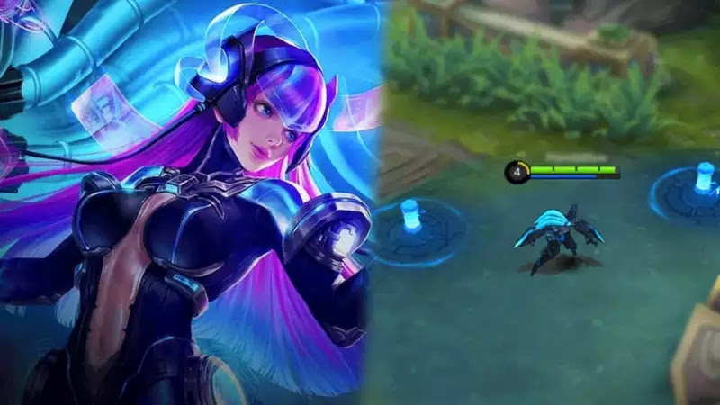 THIS IS THE LATEST SELENA SKIN IN MOBILE LEGENDS, THE SELENA