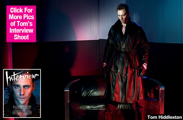 Tom Hiddleston Channels Christian Grey In Sexy S&M 'Interview' Cover Shoot