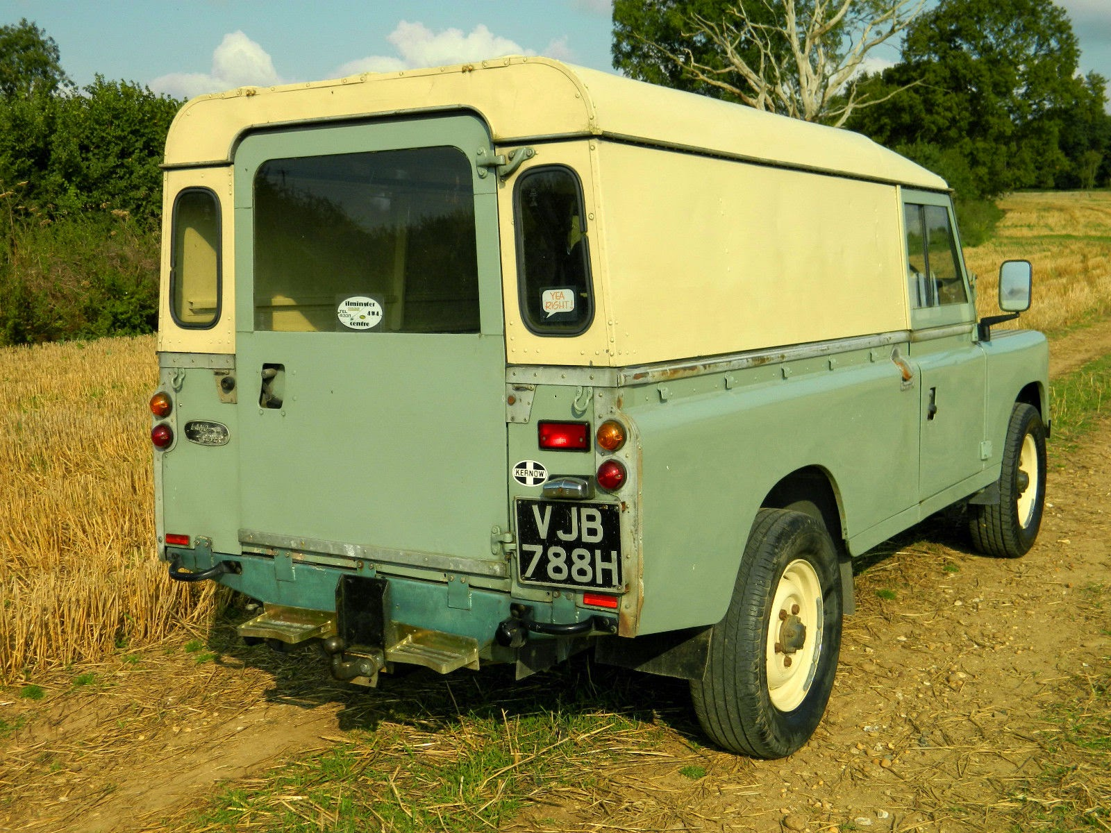 1969 Land Rover Series 2A 109 Fully Restored