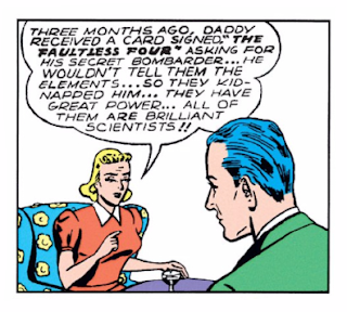Flash Comics (1939) #1 Page 10 Panel 1: Joan's father has been missing for 3 months and she is just now seeking help?
