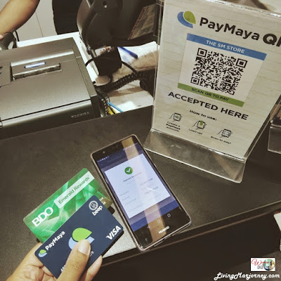 How to use PayMaya-QR-Code-SM-Malls